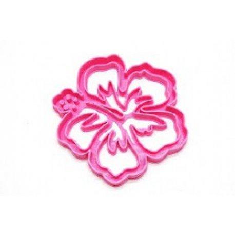 Cortante 3D Flor Hawaiana - 10 cm - Mohana