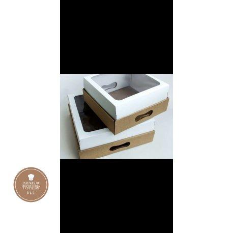 CAJA BOX cuadrada 31*31*x 12 cm