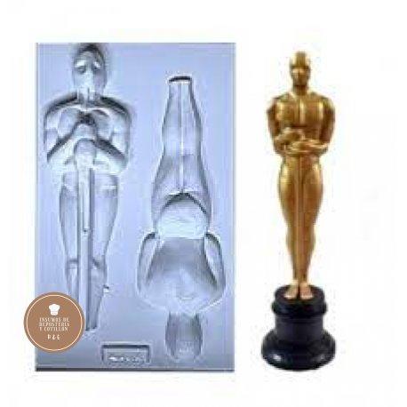 Molde Placa Acetato - Premio Oscar x 2 - 21.5cm x 6cm