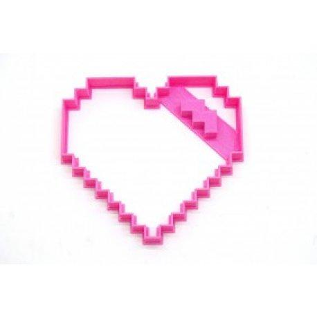 Cortante 3d - Corazon pixel