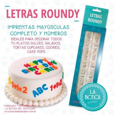 LA BOTICA LETRA ROUNDY