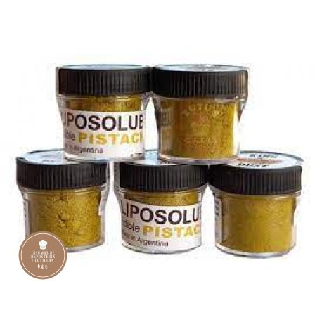 COLORANTE LIPOSOLUBLE PISTACHO