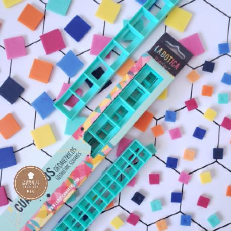 Cortante Cuadrado Geometrico - Set x 2 tamaños (25mm - 12mm) - LA BOTICA
