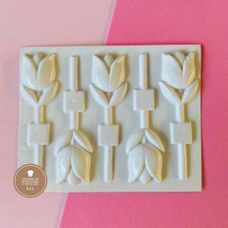Placa de Acetato Tulipan x 5
